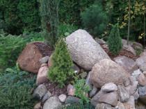 Как сделать клумбу из камней
