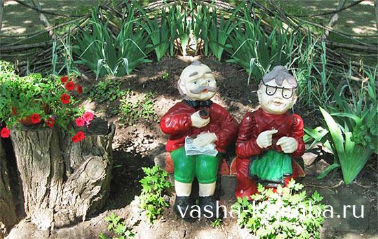 Идеи для сада своими руками ТОП 10 поделок (50 фото) 45