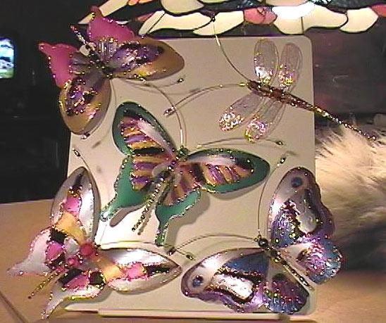 Бабочка для украшения сада, фото