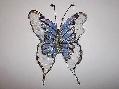 Раскрашиваем бабочку